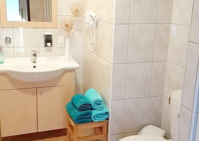 Pension Schossblick Dusche-WC